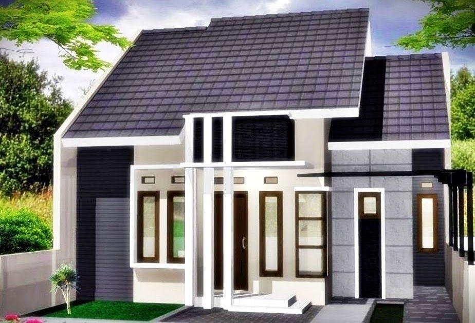 Desain Rumah Hitam Putih Minimalis Cek Bahan Bangunan
