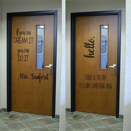 59 Off Large Classroom Door Decals Only 8 25 Classroom Door Teacher Doors Classroom Door Quotes