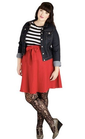 3d5828d74d The Denim Jacket | 4 '90s Trends for Plus-Size Ladies to Try | Bustle