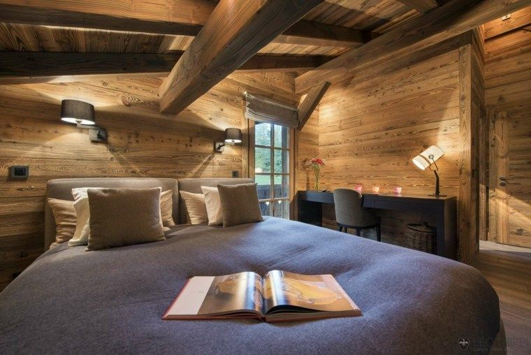 Ordinary Deco Chambre Chalet Montagne #2: Photo Chalet Style ...