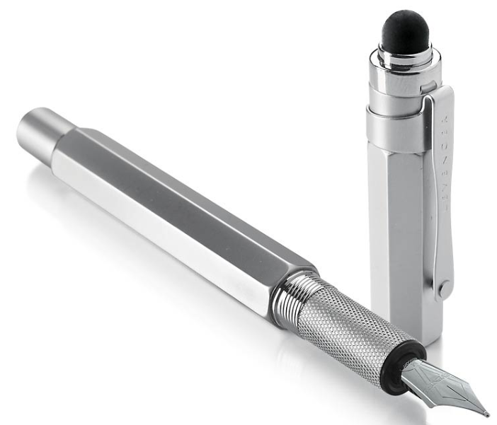 L-Tech Plus Fountain Pen with Stylus: Bringing together the best of both digital and traditional technologies.