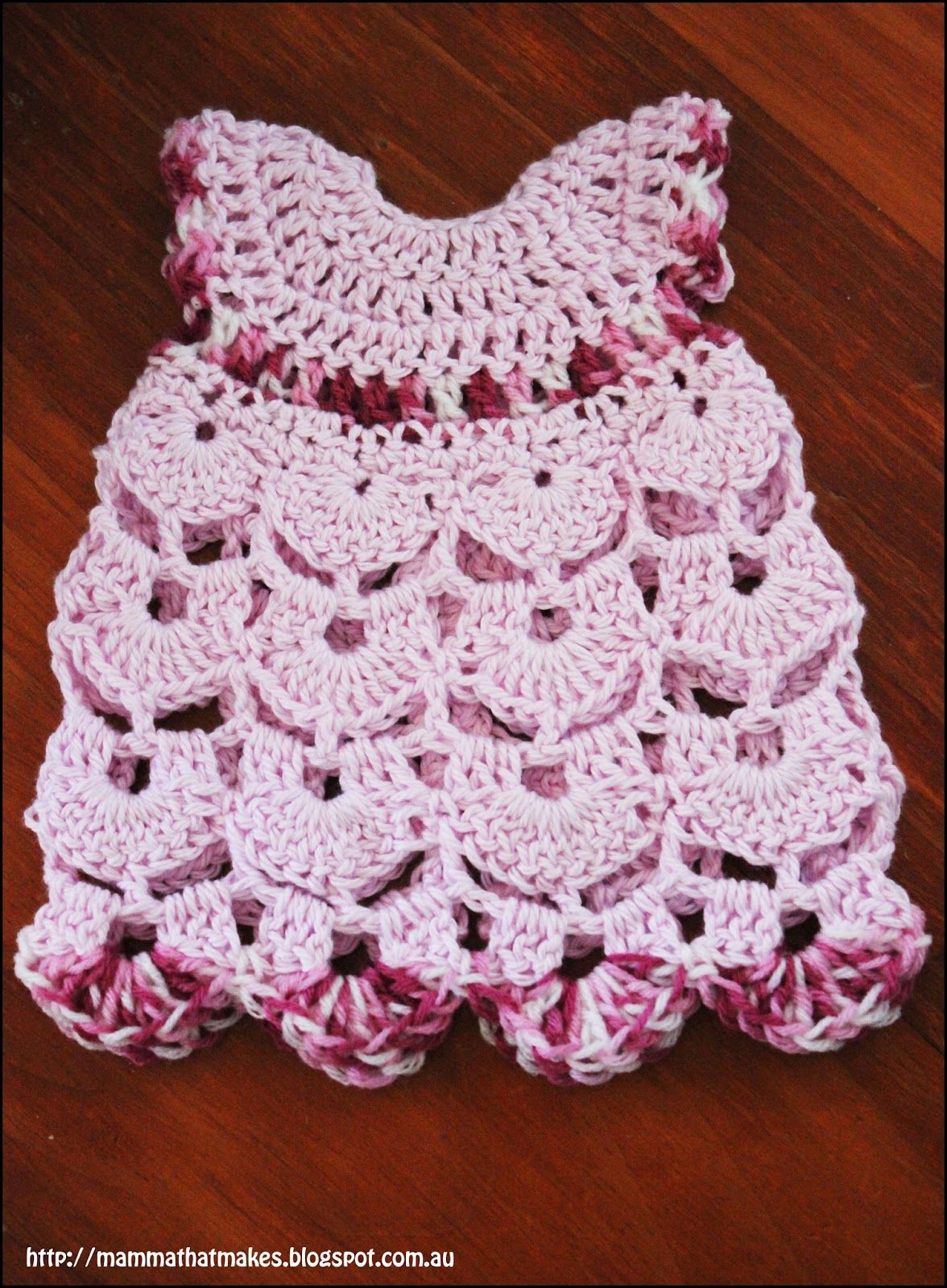 The Kalia Gown, A free preemie crochet pattern by Mamma That Makes ...