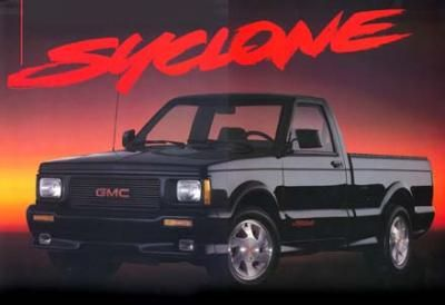1991 Gmc Syclone Awd It S Said That These Bad Boyz Run 10 30s From The Factory When Tuned Properly Gmc Trucks Trucks Gmc
