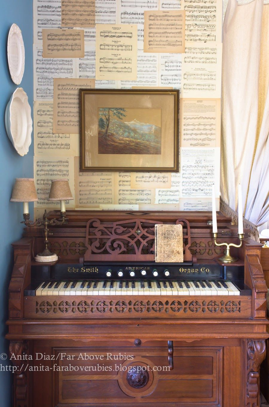 A new tune in the music room music room piano room room