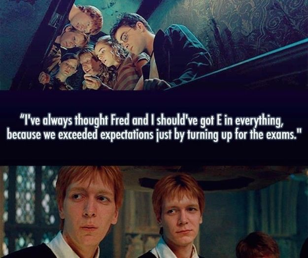 And They Always Had A Positive Outlook On Their Future Harry Potter Universal Harry Potter Funny Harry Potter Series