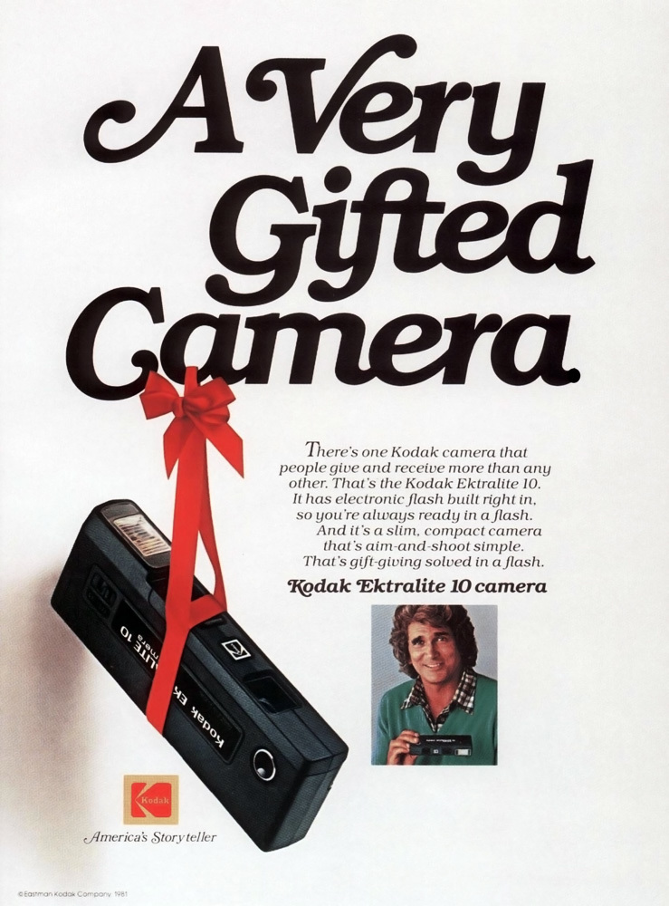 Kodak Ektralite Camera Ads 1978 1981 Fonts In Use In 2020 Kodak Vintage Kodak Camera Kodak Camera
