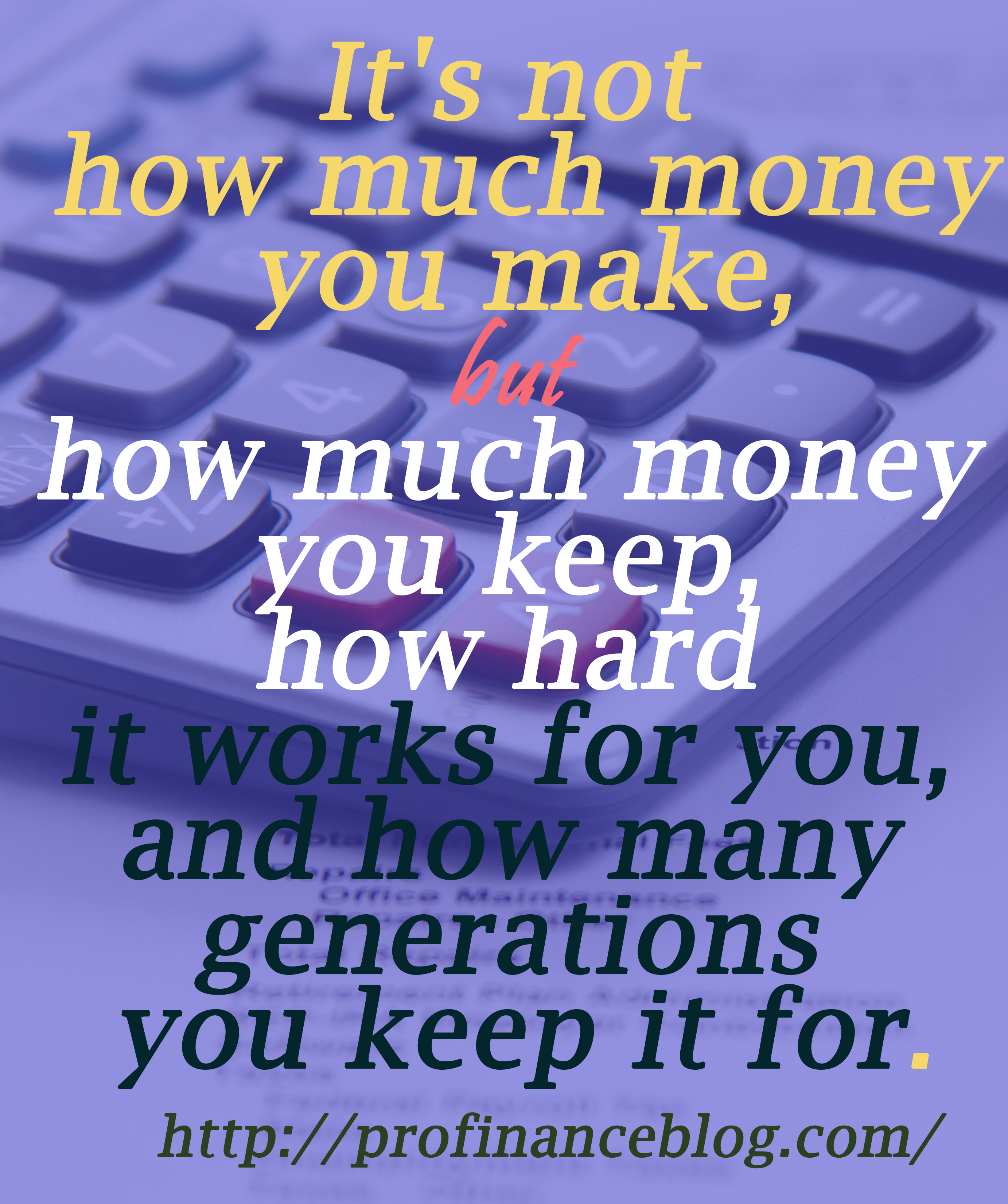 I love money. I love everything about it. I bought some pretty good stuff. Got me a $300 pair of socks. Got a fur sink. An electric dog polisher. A gasoline powered turtleneck sweater. And, of course, I bought some dumb stuff, too. ~ Steve Martin  http://profinanceblog.com