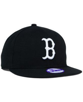 1e0a0996 ... uk new era kids boston red sox b dub 9fifty snapback cap black  adjustable 94304 24a0a