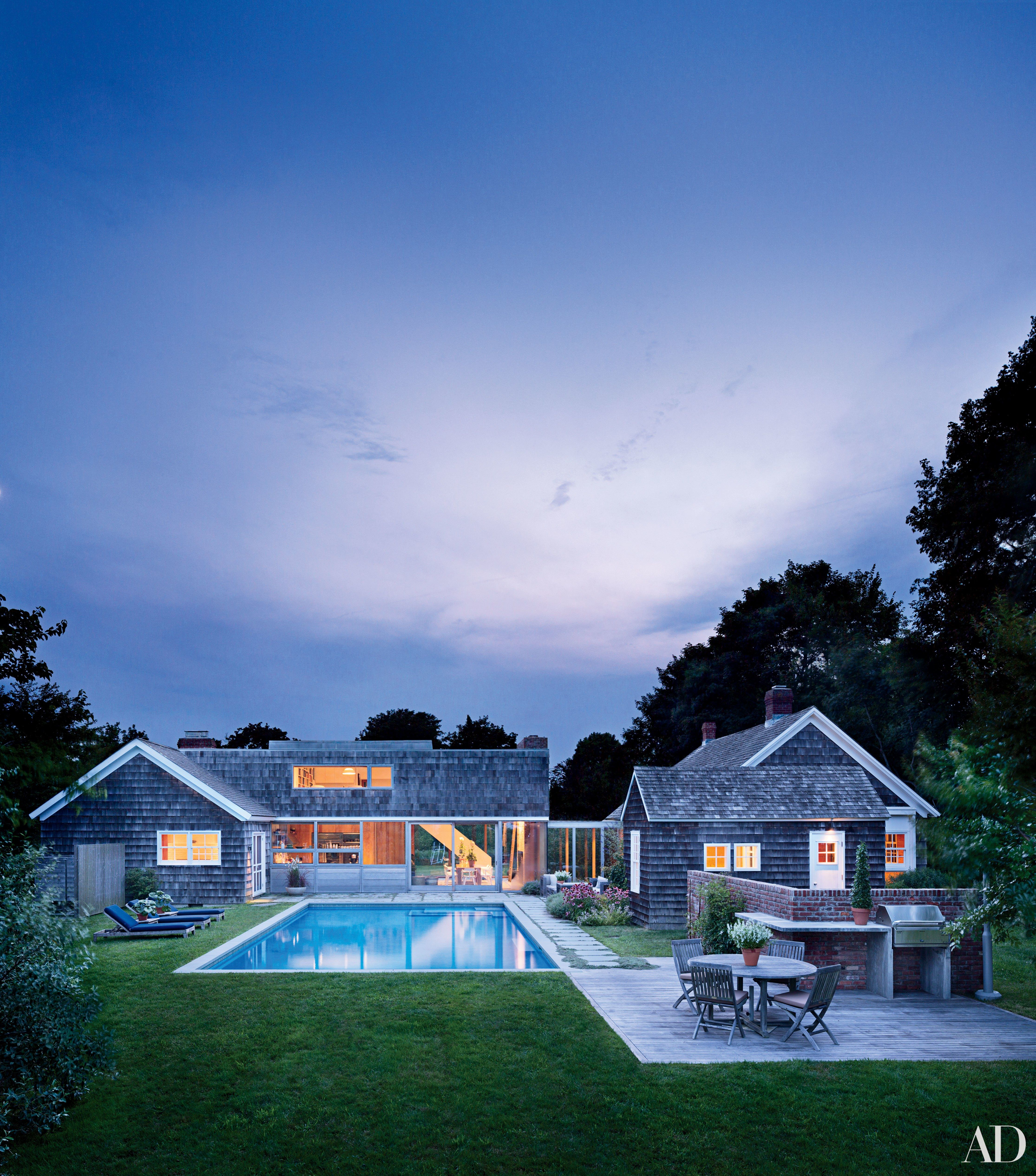 14 high style hamptons houses hamptons house architectural digest