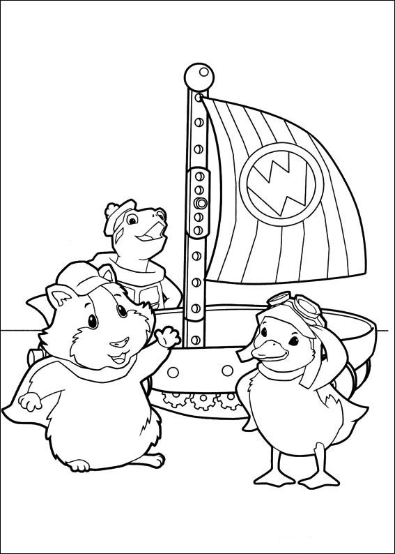 Pet Coloring Pages Coloring Pages Wonder Pets 29 Cartoons