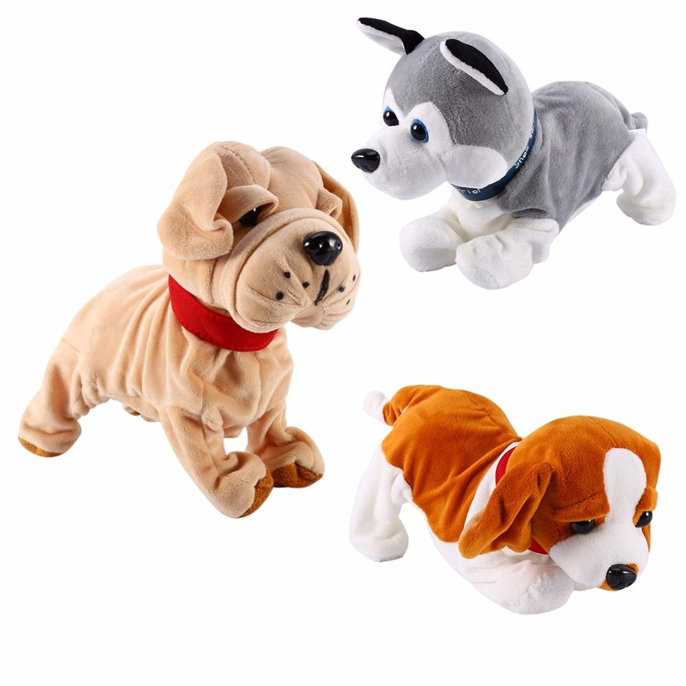 Sound Control Electronic Interactive Dog Dogs Kids Dog Toys