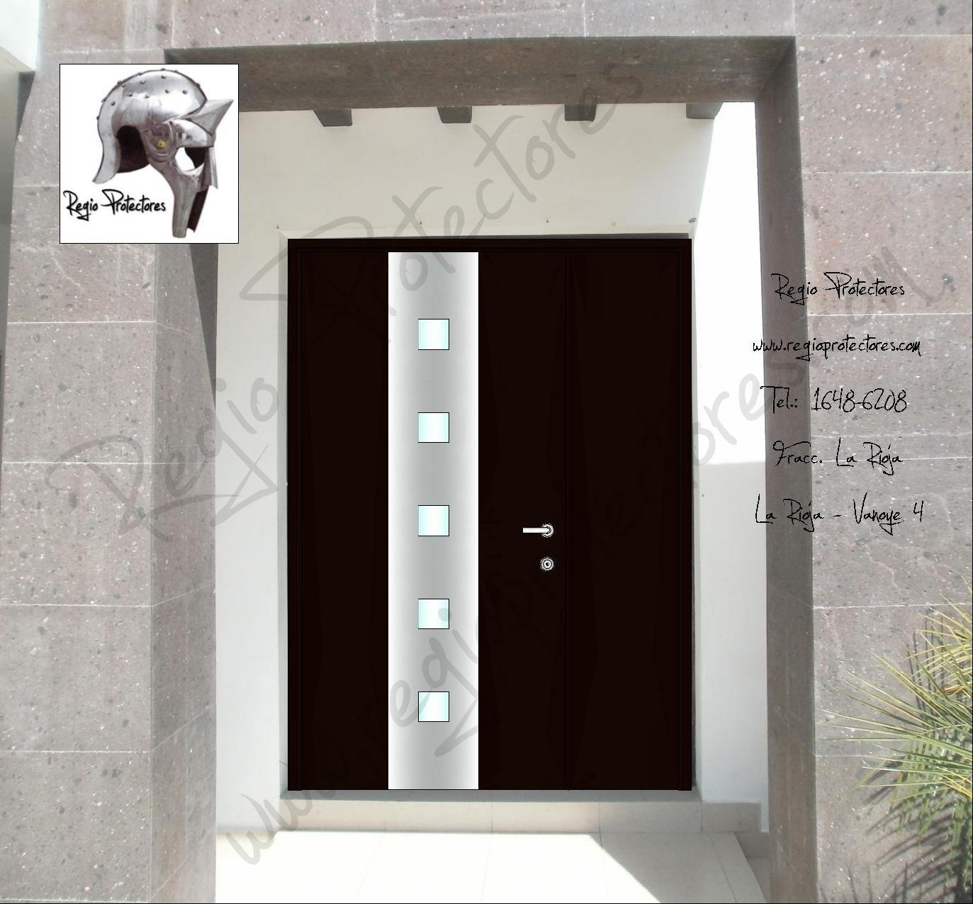 Puertas de herreria para entrada principal excellent top for Puertas metalicas entrada principal