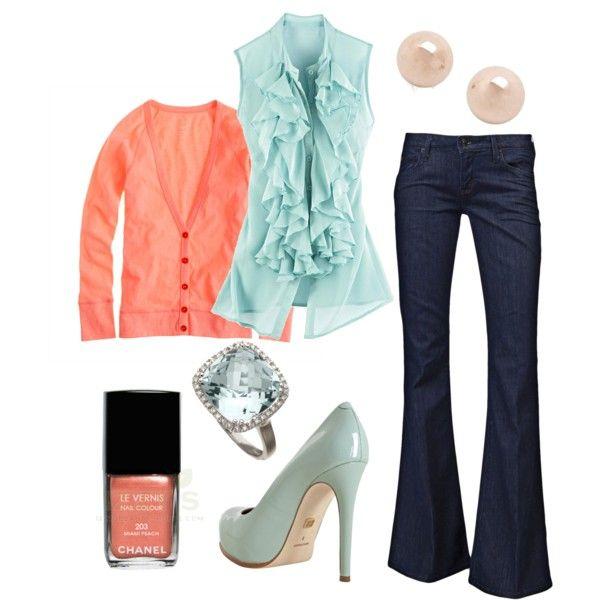 .love the color combination...