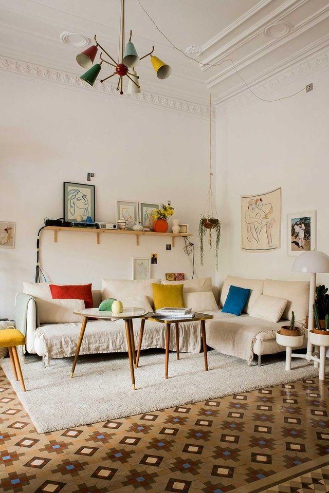 Skandinavische Einrichtung, Wohnraum, Inneneinrichtung, Wohnzimmer,  Interieur Styling, Einfache Inneneinrichtung, Bohème Einrichtung,  Innenarchitektur, ...