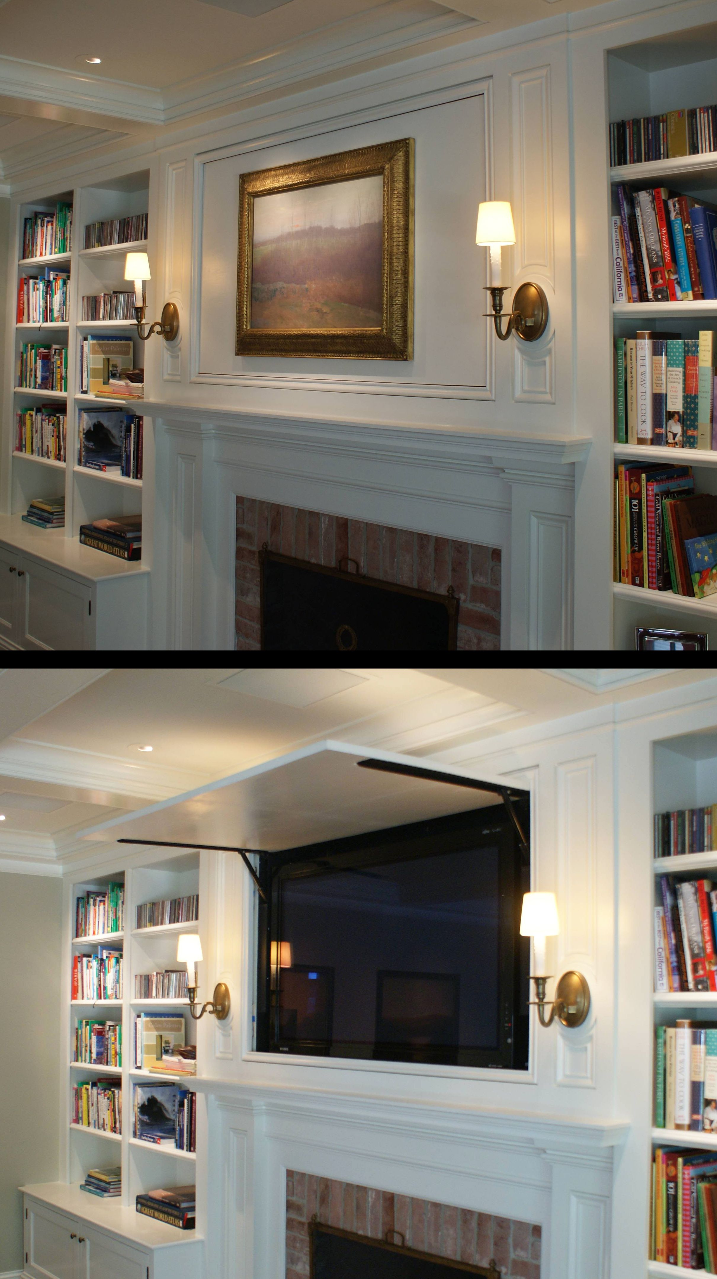 Traditional Style Fireplace Mantel