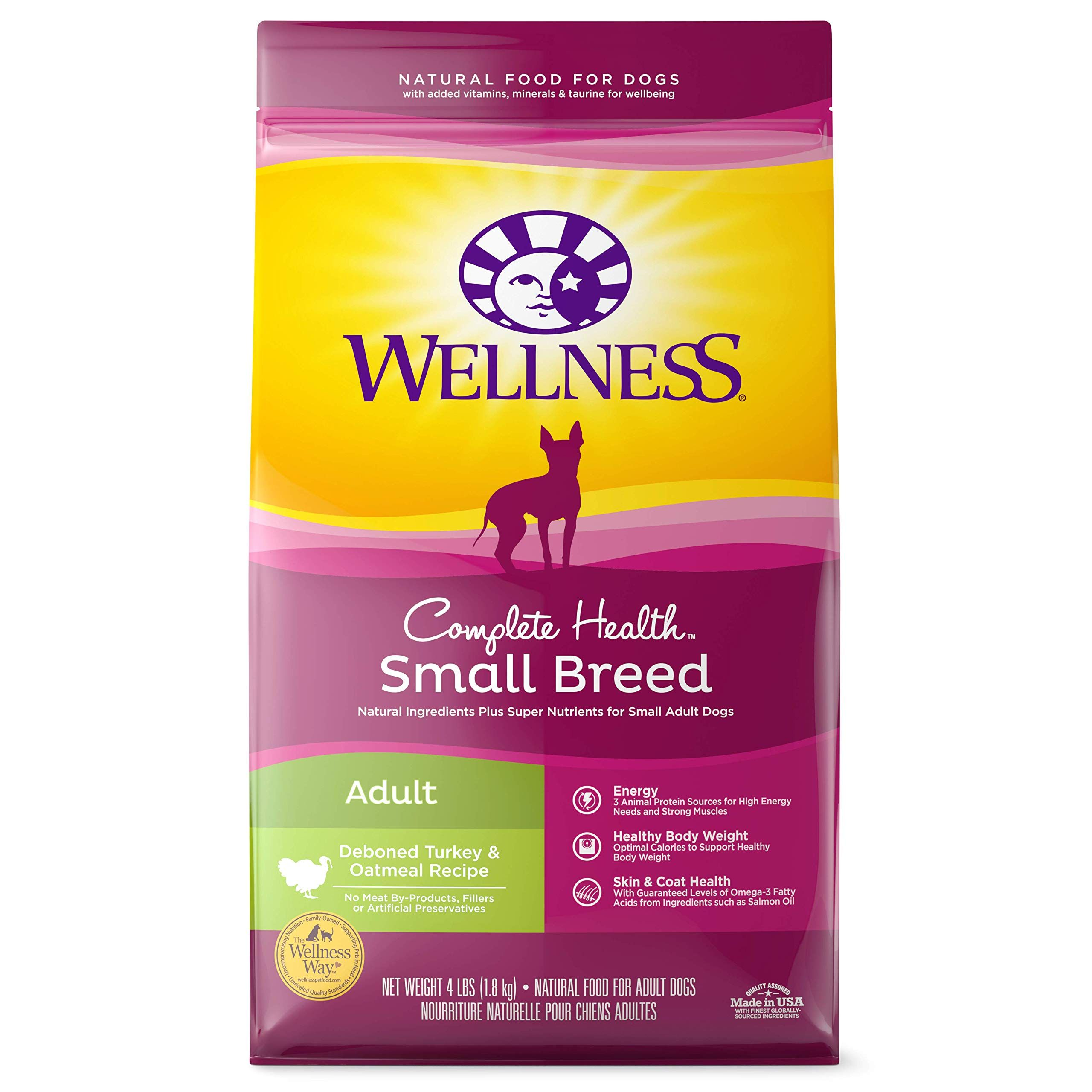 Wellness Complete Health Natural Dry Small Breed Dog Food Small