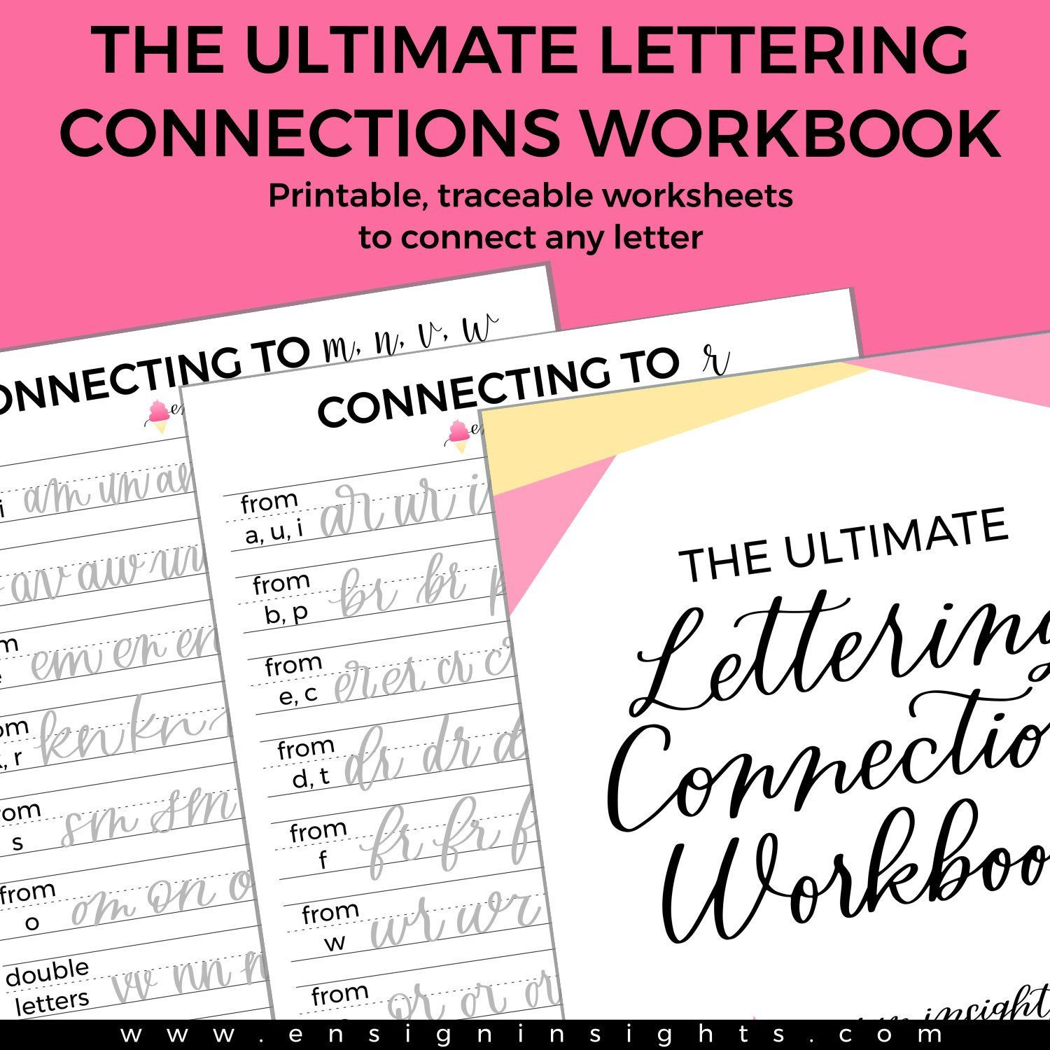The Ultimate Lettering Connections Workbook Hand