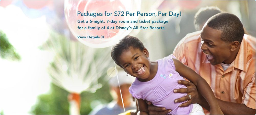Stay and Play for $72 Per Person, Per Day!