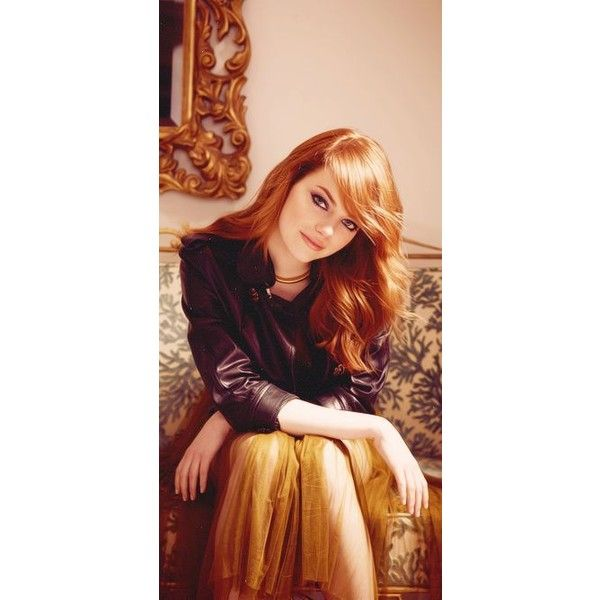 Pinterest ❤ liked on Polyvore featuring emma stone