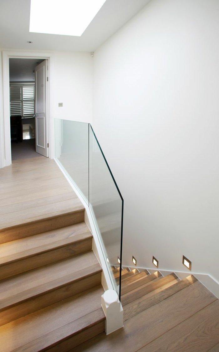 Geländer aus Glas und anderen Materialien, 50 Traumtreppen   Wohnung ...