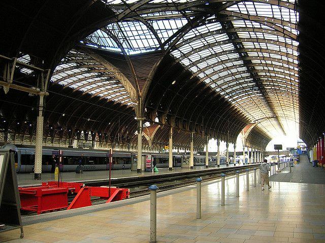 Architecture - Paddington Station, designed by I.K. Brunel