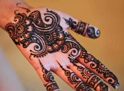 Easy Mehndi Designs Hands : Eid henna designs mehndi pinterest
