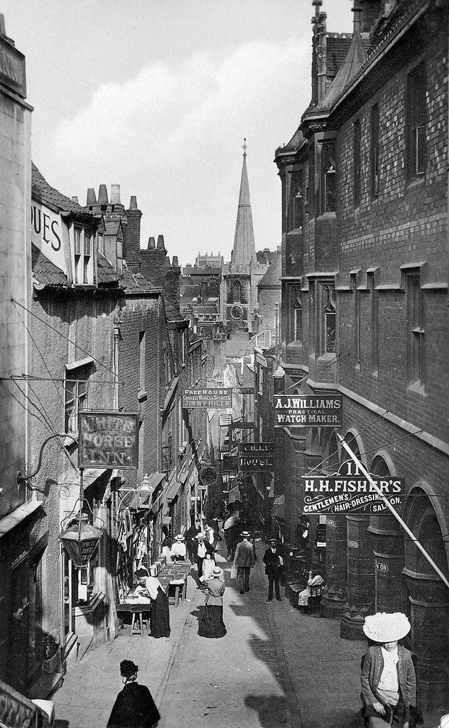 1899 Christmas Steps Lewins Mead Bristol Bs1 History Bristol