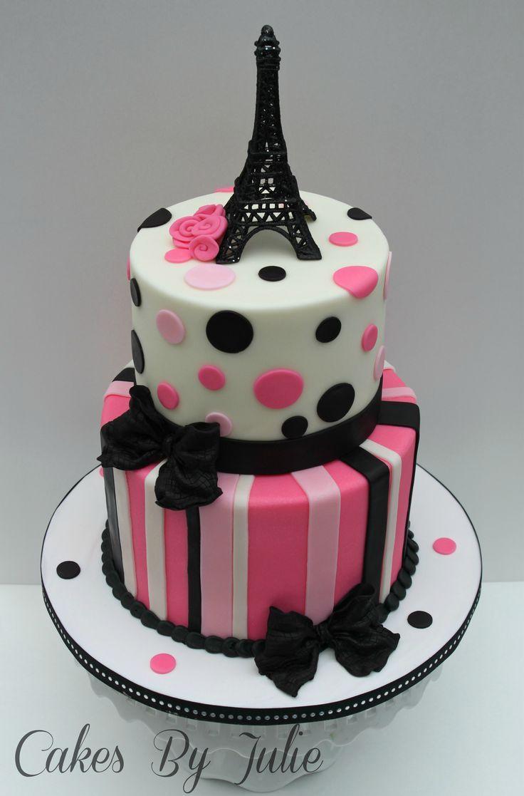 Girl Birthday Cakes On Pinterest Teen Birthday Cakes