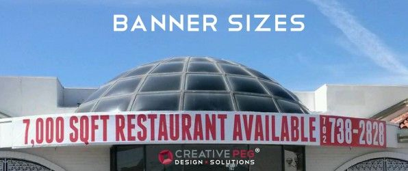 Average size of custom banners + Banner Sizes + Vinyl Banners + ...