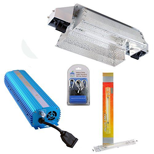 1000w Revolt Digital Dimmable Ballast With Paralux Grow Room Hps Reflector And 1000w De Ushio Bulb Want Additional Info Click On T Bulb Ballast Reflectors