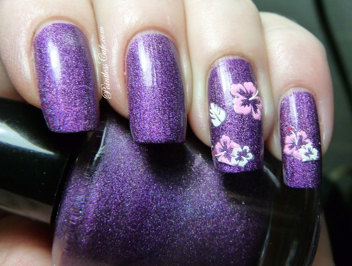 Joby Nail Art Flower Stickers Review Pointless Cafe For The