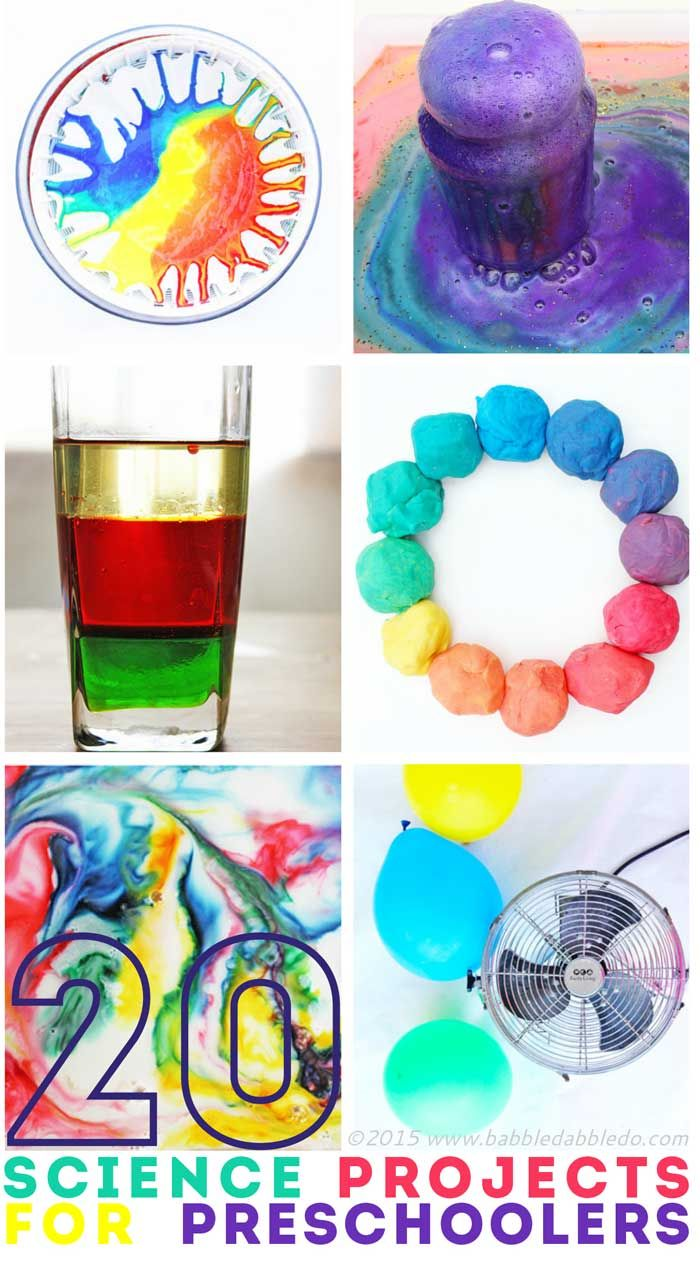 20 Science Projects to Wow Preschoolers!