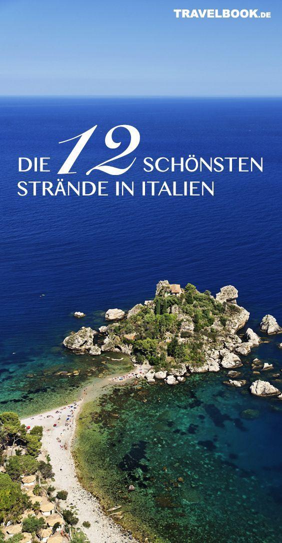 Die 12 Schonsten Strande Italiens Italien Urlaub Italien Strand