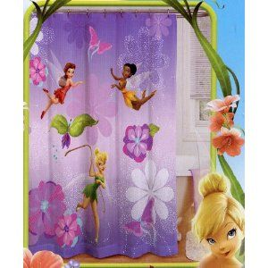 I Cant Decide If Should Go Full Blown Tinkerbell With This Shower Curtain Or More Subtle