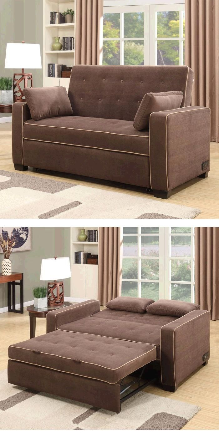 the westport fabric convertible loveseat in java is sure 78151