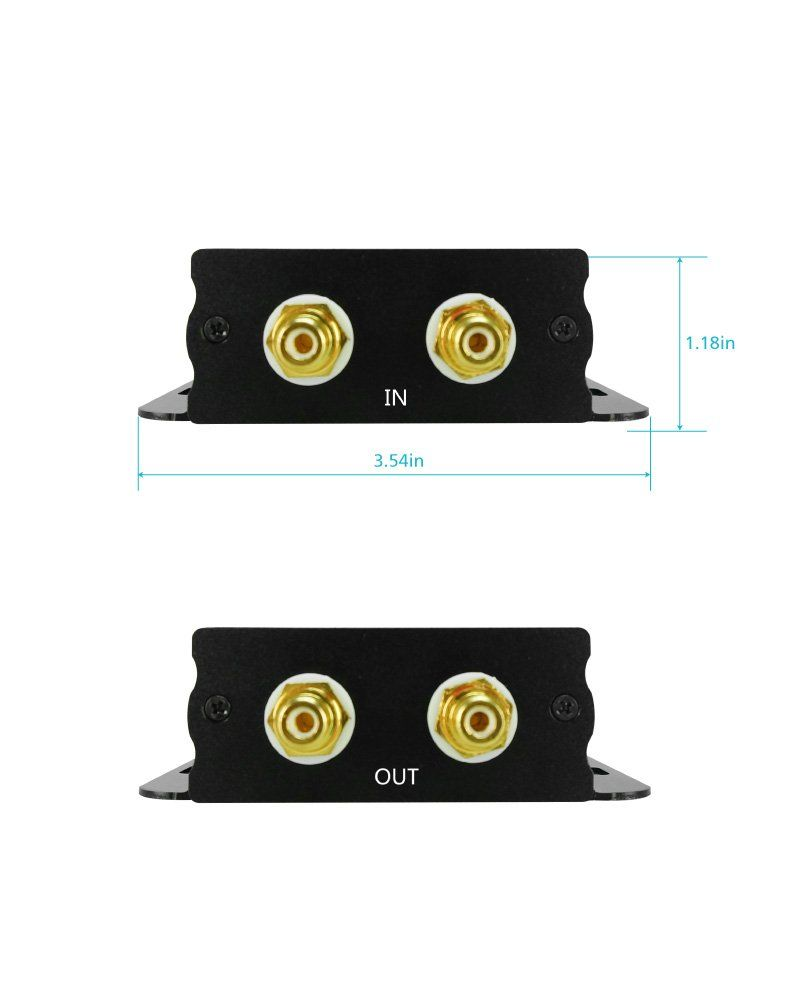 XtremPro Hiend Ground Loop Noise Isolator / Filter for Car