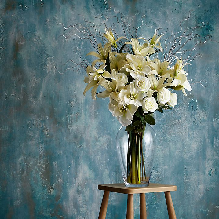 Buy november flowers from our artificial flowers house pinterest buy lsa international flower grand bouquet vase from our vases range at john lewis mightylinksfo