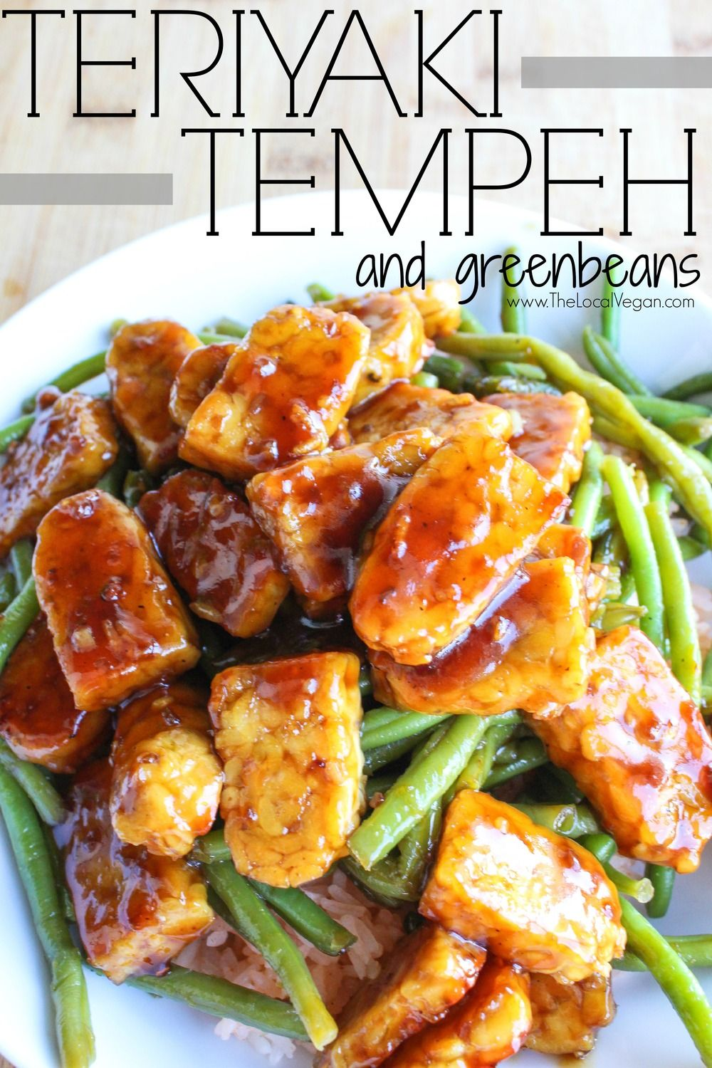 Teriyaki Tempeh With Green Beans Is A Super Easy Meal That