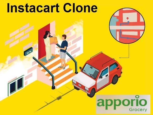 Instacart Clone, Instacart Clone Script, Supermarket