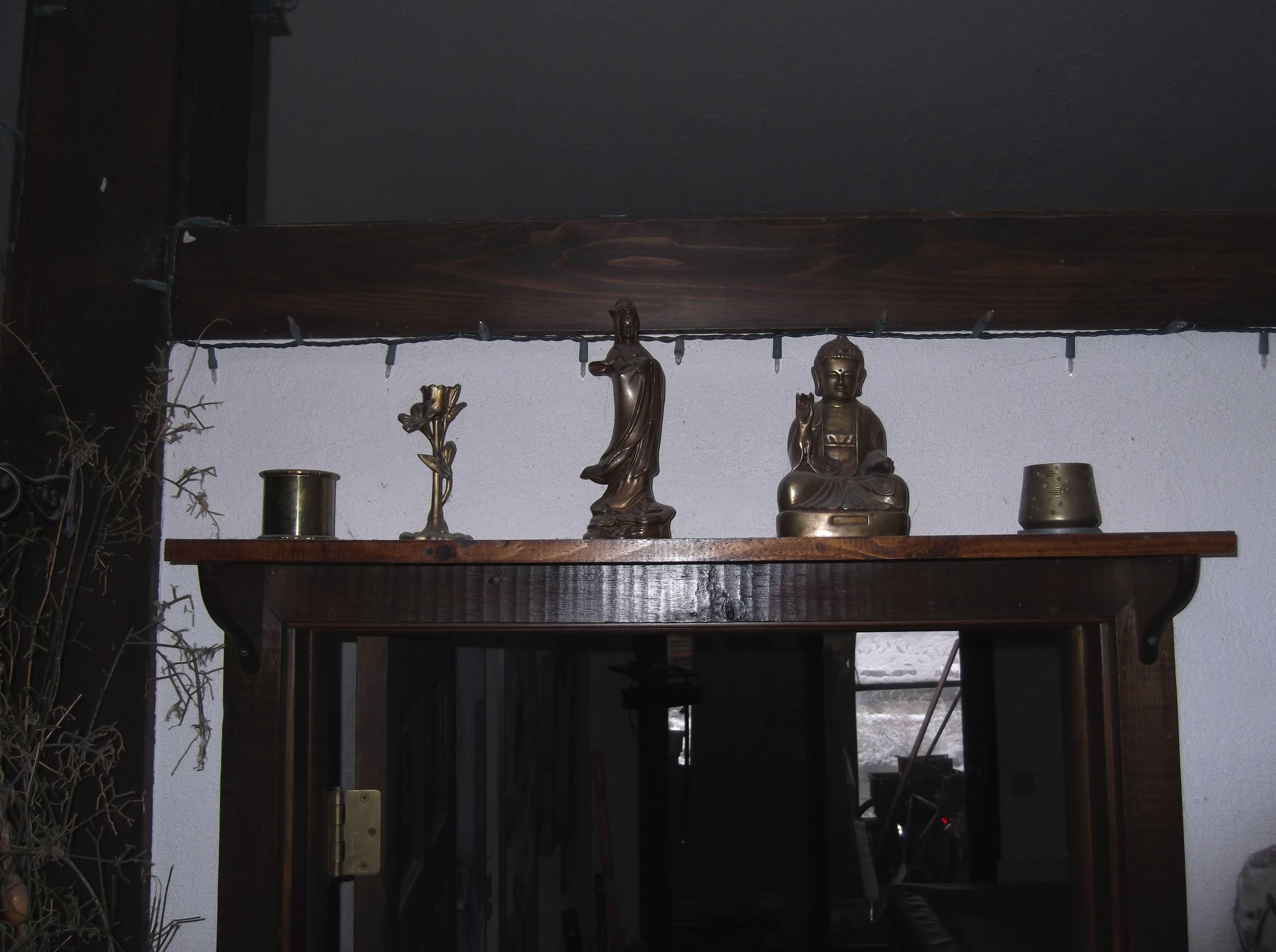 Kuan Yin and Buddha