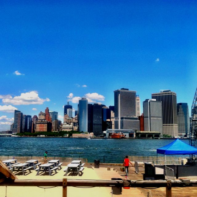 View of #nyc from #governorsisland