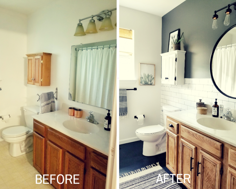 Diy Home Transformations 2 Days 200 Transformations Showit Blog Budget Bathroom Remodel Bathrooms Remodel Bathroom Makeover