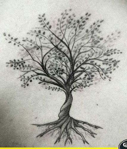 Photo of 26 Trendy Family Tree Tattoo On Back Ink