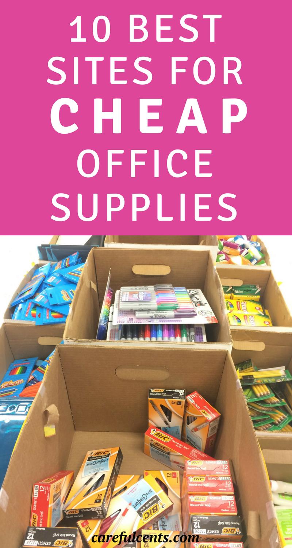 10 Best Websites to Buy Cheap Office Supplies | Cheap office