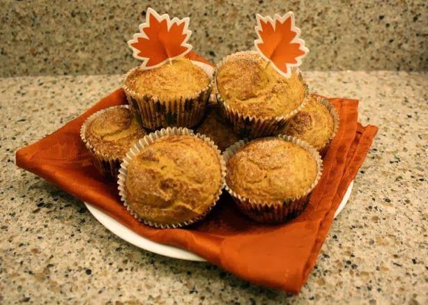 Pumpkin Chocolate Cake Mix Muffins Weight Watchers