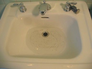 Unclog Your Sink Drain With Hot Water A Plunger Or A Snake Sink Clogged Sink Bathroom Sink Drain