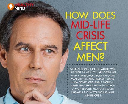 Men going through midlife crisis