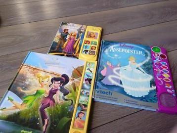 Interactieve leesboeken Assepoester / Rapunzel & Tinkerbell