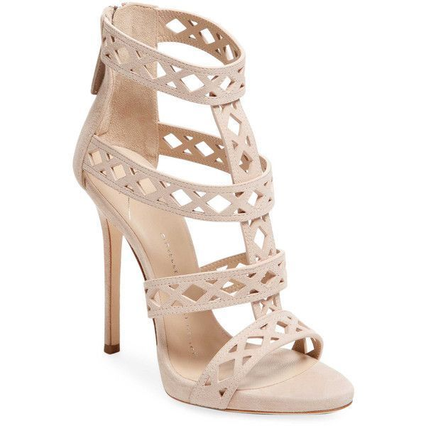 3621de52c3d Giuseppe Zanotti Women s Leather Strappy High Heel Sandal - Cream ...