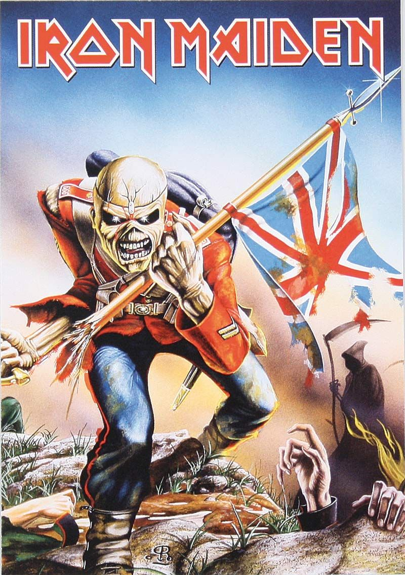 Iron Maiden The Trooper Wallpaper Photo On Wallpaper 1080p Hd Iron Maiden Eddie Iron Maiden The Trooper Marine Special Forces